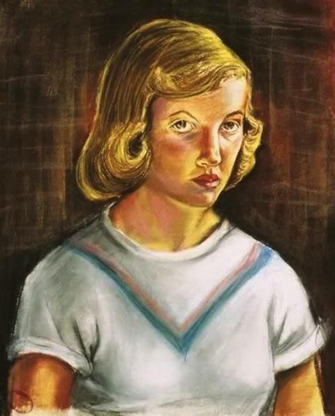Sylvia Plath (1951).