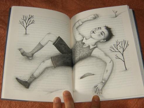ilustración de Ana Sender para 'Los turistas' de Rui Díaz.