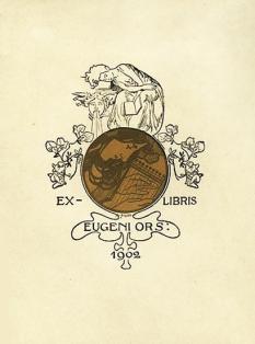 Ex libris Eugeni D`Ors.
