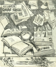 Ex libris Leonardo Sciascia.