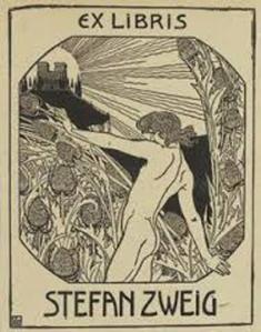 Ex libris Stefan Zweig.